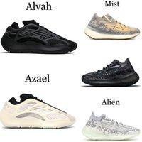 700 MNVN KANYE Tênis de corrida Ocidental 700 V3 Alvah Azael 3M 380 Mist Alien Mens Sneakers EUR 36-46