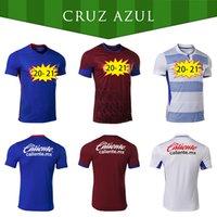 2020 2021 CD de alta qualidade CD Cruz Azul Soccer Jerseys Rosa Kit Pink Black Home Away 20 21