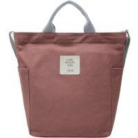 HBP Ladies Canvas Bag Shopping Bag Student Wild Casual Retro Single Shoulder Oblique Section Bag Large Capacity Literary