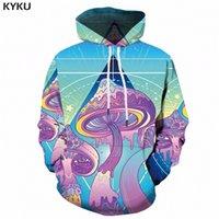 Кику гриб с капюшоном мужчины 3D красочные толстовки с капюшоном длинные космические 3d печатные толстовки аниме мужская одежда уличная одежда вскользь стиль lj200826