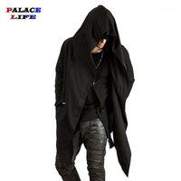 Herrenjacken 2021 Frühling Assassin Creed Herren und Mäntel Lose Casual Cardigan Baumwolle Streetwears Hip Hop Übergroße Tops1