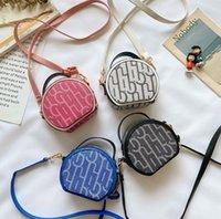 Mode Neue Mädchen Shell Handtasche Kinder Brief Gedruckt Messenger Bag Luxus Kinder Party Handtasche Mädchen Einzelner Schultertasche A5463