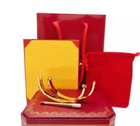 Verblassen nie 316L Edelstahl Schraube Armbandarmband mit Schraubendreher Hochzeit Partei Armband Schrauben mit Box-Set