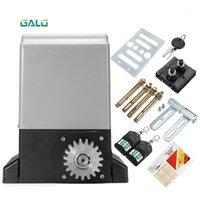 Barato AC220V controle remoto elétrico máquina de porta deslizante porta de porta lisa Villa elétrica abridor opcional1