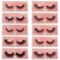 New Hot Sale 10styles 3D Mink Eyelashes Natural False Eyelas...