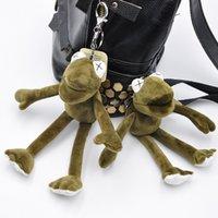 Горячие продажи 20сма Плюшевых игрушек Длинных ноги лягушки кукла чучело Кермит игрушка груз падение праздник Keychain подарки