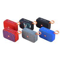TG506 Mini Bluetooth Hoparlör Kablosuz Kare Stereo Açık Su Geçirmez Destek Veri Kartı Taşınabilir Ses ve Video Ekipmanları