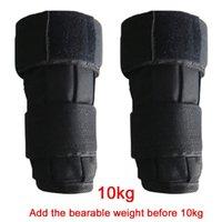 1Pair Sandbag Oxford Tecido Força Treinamento Fitness Gym Strap Wrist Wrist Bag Exercício para adultos proteção contra tornozelo