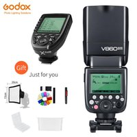 Godox V860II-N 2.4G HSS 1 / 8000s sem fios i-TTL II Li-on Flash Speedlite + Xpro-N transmissor sem fio para