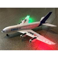 NEW WLTOYS AIRBUS A380 Игрушки самолета AIRBUS A380 2.4G 3CH RC Самолет с фиксированным крылом самолет Наружные игрушки Drone A120-A380 RC Toys 201210