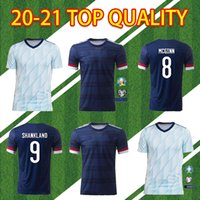 2020 2021 Scotland Soccer Jerseys 20 21 Camisetas de Fútbol Home McGregor McGronn Armstrong National Team Away Kids Football Shirts تايلاند