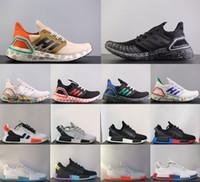 2021 جودة عالية Ultraboost 3.0 4.0 الاحذية الرجال النساء تعزز الترا 6.0 III primedknit يدير الأبيض الأسود الرياضية chaussures حذاء 36-4