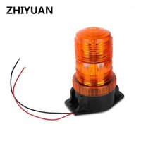 6W Amber Beacon 12V LED Ampel Blitzlicht Rotary Blinth Lampe Schulbus Notfahrzeugbeleuchtung Rotation1