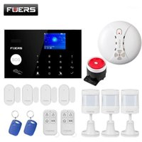 Alarmsysteme Home Safety Protection System TFT Color Screen Display Sprachaufforderungen 4G GSM Wifi Connection TUYA App Remote Control System1