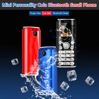 Super Mini Celular K8 Botão K8 Telefone Móvel Dual SIM Bluetooth Dialer GSM Celular Telefones Câmeras 1.0 Polegada Mãos Telefone Celulares MP3 Smortest China Celulares
