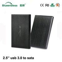 2.5 difficile disk enclosure HDD per notebook in alluminio portatile casella hdd caso USB 3.0 SSD 2.5 SATA esterno da 1 TB hard drive