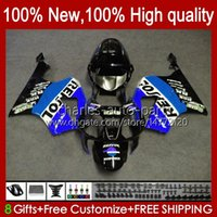 Körper für Honda VTR-1000 VTR 1000 VTR1000 RC51 98HC.169 BLUE REPSOL SP1 SP2 00 01 02 03 04 05 06 2000 2001 2002 2003 2004 2005 2006 Verkleidung