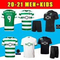 Novo 20 21 Sporting Clube de Sporting CP Lissabon Fußball Trikots # 28 c.ronaldo Phellype 2020 2021 B.fernandes Camisa de futebol