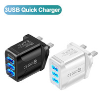 Mobile Phone adapter 3 USB fast charge charger QC3. 0 Fast Ch...