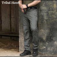 Pantalon tactique pantalon homme style style combat pantalon armée pantalon Homme homme de corps de corps panoches décontractées coton noir travail de travail1