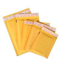 15 * 21 cm Kraft Kabarcık Zarflar Kağıt Ambalaj Çanta Yastıklı Mailers Paket Kabarcıklar Zarf Kurye Saklama Çantası