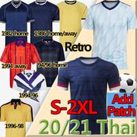 2020 2021 Scotland Soccer Jersey Robertson Fraser Forrest McGinn Men + Kids Kit Jretro Jerseys 1982 86 94 96 1998 Hendry Lambert Football Shirt