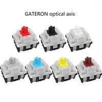 Gateron Optischer Schalter für optische Schaltschalter Mechanische Tastatur GK61 SK64 Blau, Rot, Braun, Schwarz, Gelb, Whit Axis1