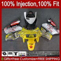 Injektion für Honda NSR250 R NSR250R MC28 94 95 96 1997 1998, 1999 102HC.93 Yellow Stock NSR 250 R PGM4 250R 1994 1995 1996 97 98 99 Verkleidung