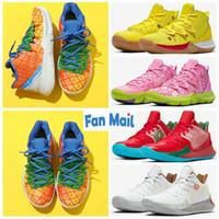 2020 أحذية الإسفنج الأناناس البيت 5 Zapatos TV PE كرة السلة لل20 الذكرى 5S الكتابة على الجدران اكس متعدد الألوان أعلى جودة أحذية مصمم
