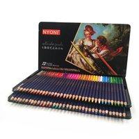Artist 72 Акварельные карандаши 12 24 36 48 48 Организаторы де-окраски Prepensiones Dibujo 150 Водорастворимые цветные Карандаши для покраски 201102