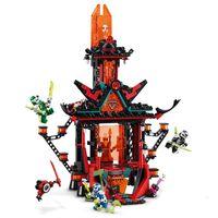 在庫ありねぎ映画映画帝国狂気のビルディングブロック数字2020年集合ブロック子供のおもちゃ忍者ブロックLJ200928