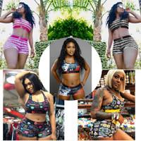 Les femmes Maillots de bain Designer Ethika Brassière Bermudas 2 Piece Marque Survêtement Beachwear Bikini Vêtements Set C068