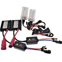 HID Xenon Lights Kit di conversione Kit Slim Ballast 35W AC W / O Canbus H4 9003 Hi / Lo Beams 12000K 10000K 8000K 6000K 43000K 3000k USA
