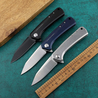 Cuchillo de tolerancia cero 440C Blade 60HRC 0808 ZT0808 Cuchillo plegable de bolsillo Camping Cuchillo de supervivencia táctico Regalo de Navidad D587L