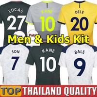 20 21 تايلاند توتنهام كين بيرجويجن قمصان كرة القدم توتنهام 2020 2021 لوكاس ديلي سون مجموعة قميص كرة القدم NDOMBELE رجال كيت كيدز الزي الرسمي