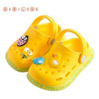 نمط جديد الأولاد طفل الصنادل الصيفية للأطفال أحذية شاطئ الفتيات لطيف أحذية الكرتون حديقة الطفل النعال K84 C1002