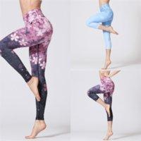 XFZ Alto Alto Imitação Longa Yoga Pant para Mulher Lady Tummy Cont Comprimento do Laço do Laço do Laço da ioga Leggings Alta Elasticidade Slim Moda