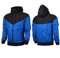 Moda Yeni Erkekler Kadınlar Ceket Bahar Sonbahar Sonbahar Rahat Spor Giyim Giyim Rüzgarlık Kapşonlu Fermuar Up Mont
