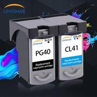 Cartucce d'inchiostro UNISMAR CL41 PG40 per Canon PG PG 40 cl 41 PG-40 PIXMA IP1200 IP1800 IP1900 IP1600 MX300 MX310 MP160 MP140 Stampanti1