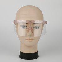 Übergroße Übertriebene HD LEN Shiny Visier Wrap großen Spiegel UV400 Sun-Glas-Halbgesichtsschutz-Schutz-Schutz Goggle Mädchen