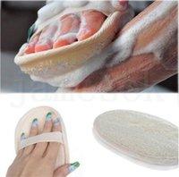 11 * 16 سنتيمتر الطبيعية اللوف وسادة لوفاه الغسيل إزالة الميت الجلد اللوف وسادة الإسفنج للمنزل أو هوتا da030