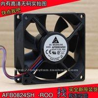 팬 냉각 델타 델타 AFB0824SH 8025 24V 0.33A 8cm 높은 공기 볼륨 측정 듀얼 볼 주파수 변환기 팬 80 × 80 × 25mm 냉각 팬 1