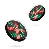 """12 """"레드 포크 녹색 화살표 LED 신호등 램프 모듈 1"""