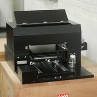الطابعات الصغيرة الأشعة فوق البنفسجية طابعة مسطحة عالمية، معدات آلة الطباعة قذيفة الهاتف المحمول، آلة نفث الحبر، حجم A3، 6 لون
