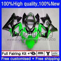 Kit für HONDA CBR 929RR 900 929 RR 00 Grün grau 01 2000 2001 50HM.122 CBR900 RR CBR 900RR 929CC CBR900RR CBR929RR CBR929 RR 00 01 Verkleidungs
