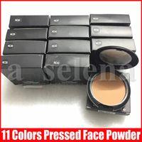 ضغط M بودرة الوجه ماكياج مؤسسة زائد ماتي الطبيعية المكياج الوجه مسحوق سهل على ارتداء 15G NC 11 الألوان