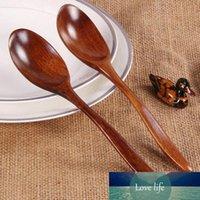 18 centímetros de madeira Colher de bambu cozinha que cozinha utensílio sopa Colher de chá Catering Supplies Baking Mistura colher de sopa Louça Cozinha