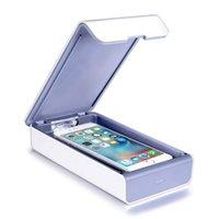 Taşınabilir UV Sterilizatör Kutusu UV Temizleyici Ultraviyole Sterilizatör FacMask Dezenfeksiyon Dolabı Takı İzle Telefon Sterilizatör ABD Depo