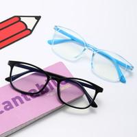 جديد الأطفال المضادة للإشعاع إطار نظارات كاملة الاطفال مكافحة بلو راي نظارات الأزياء الصبي بنات الكمبيوتر واقية نظارات نظارات C6694