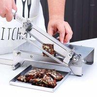 Fleischschleifer Lamm Slicer Haushaltsmaschine Hammelfleisch Rollteig Chinesisch Gemüse Gefrorene Hobelnschneidermaschine1